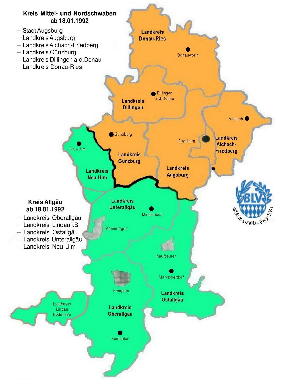 Schwaben (Regierungsbezirk) - Reiseführer auf Wikivoyage